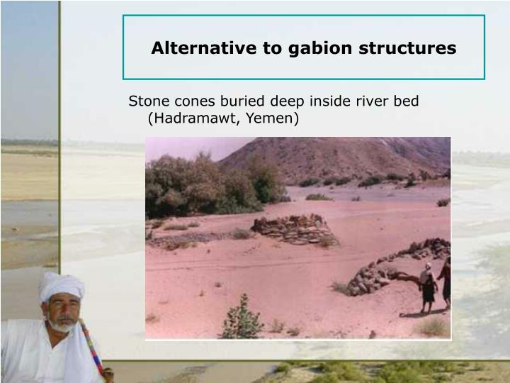 Alternative to gabion structures