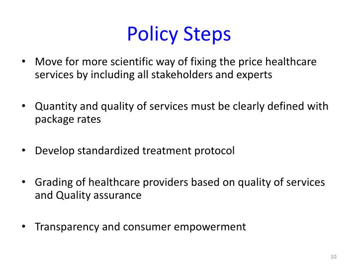 Policy Steps