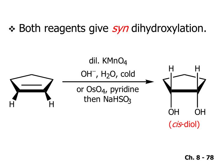Both reagents give