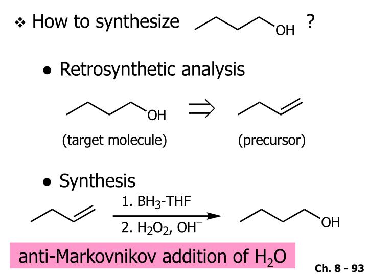 How to synthesize                      ?
