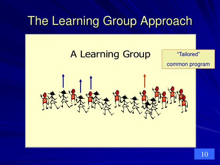 The Learning Group Approach