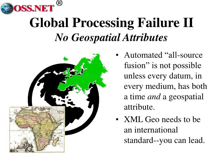 Global Processing Failure II