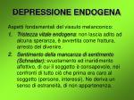 depressione endogena