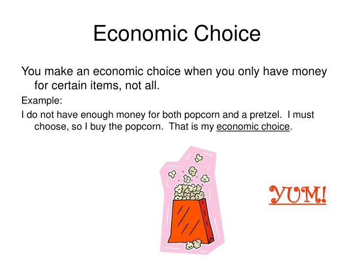 Economic Choice