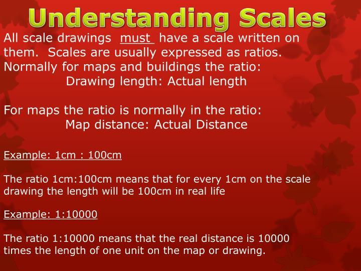 Understanding Scales
