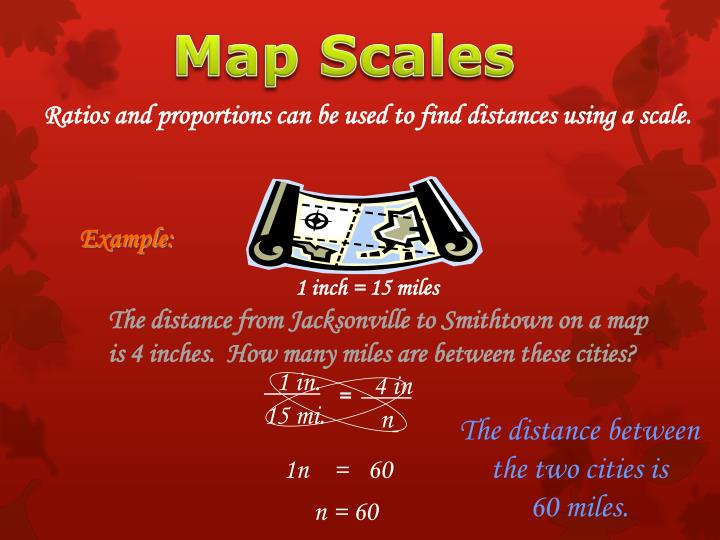 Map Scales