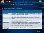 infopolitics research management