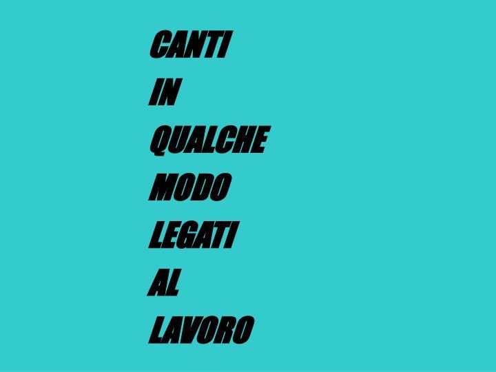 CANTI