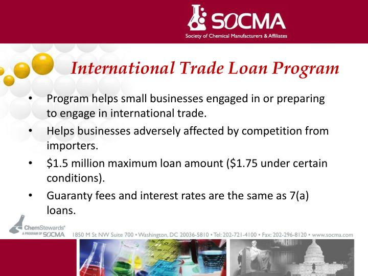 International Trade Loan Program