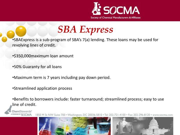 SBA Express