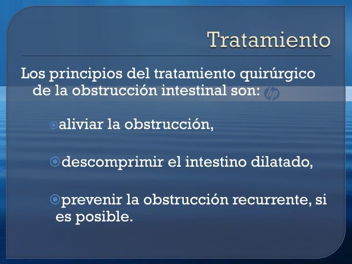 Tratamiento