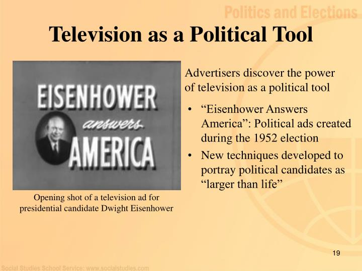 Television as a Political Tool