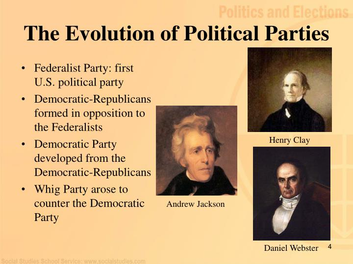 The Evolution of Political Parties