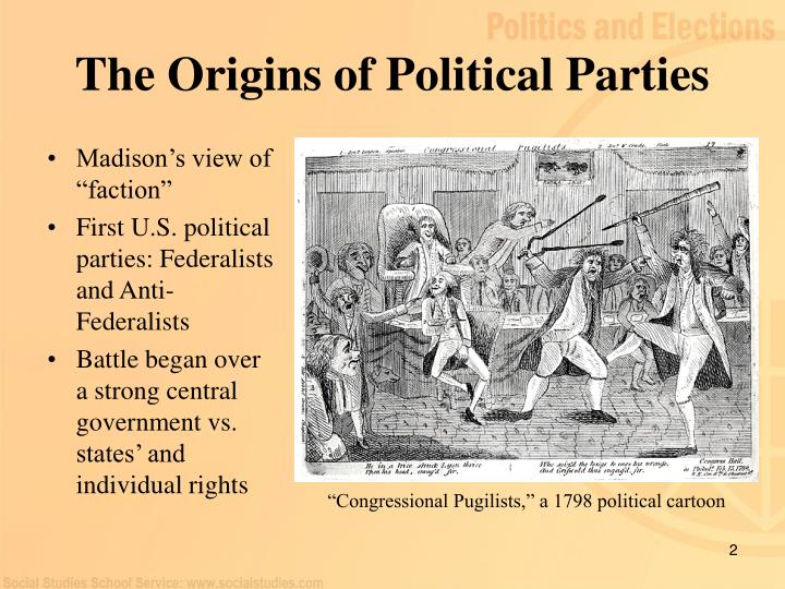 The Origins of Political Parties