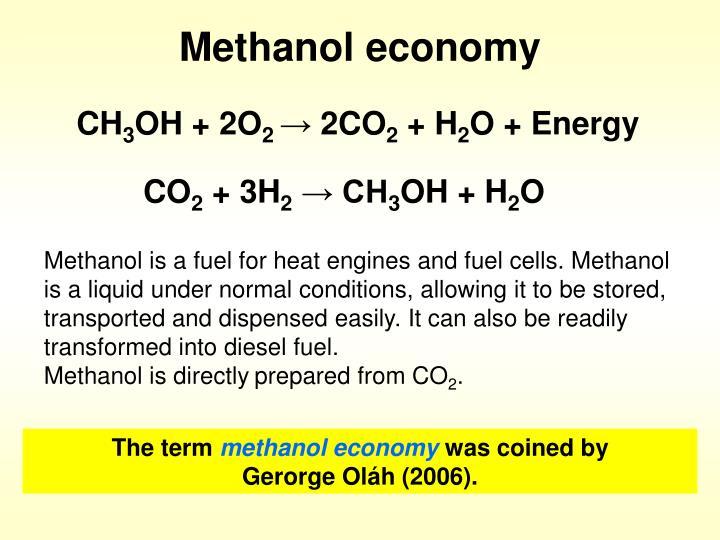 methanol economy Gotenburg beyond oil and gas: the methanol economyr g k surya prakash loker hydrocarbon research institute and department of.