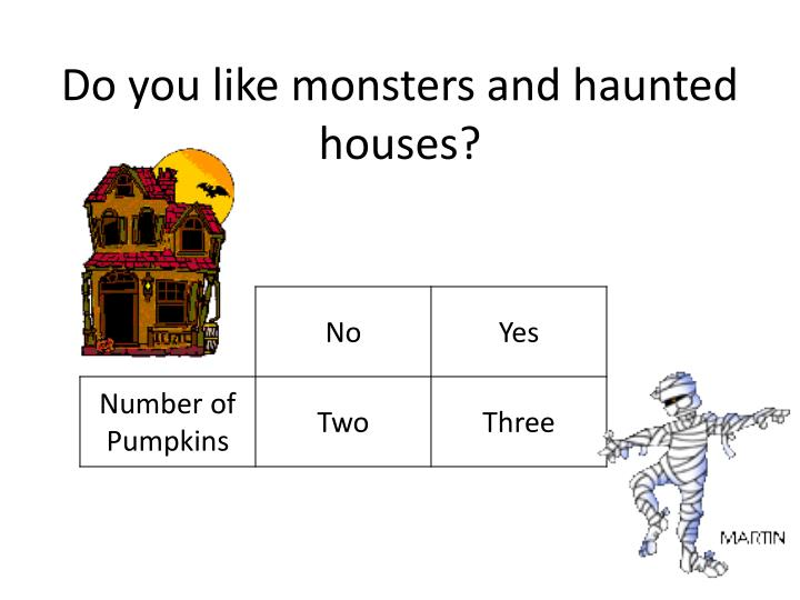 Do you like monsters and haunted houses?