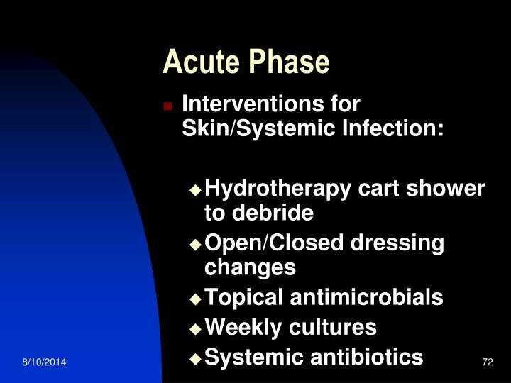 Acute Phase