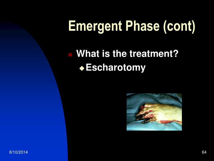 Emergent Phase (cont)