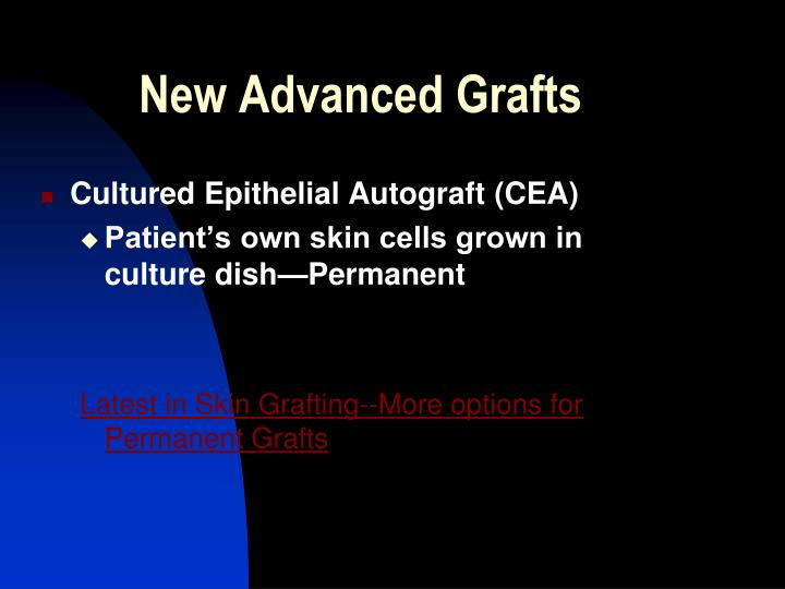 New Advanced Grafts