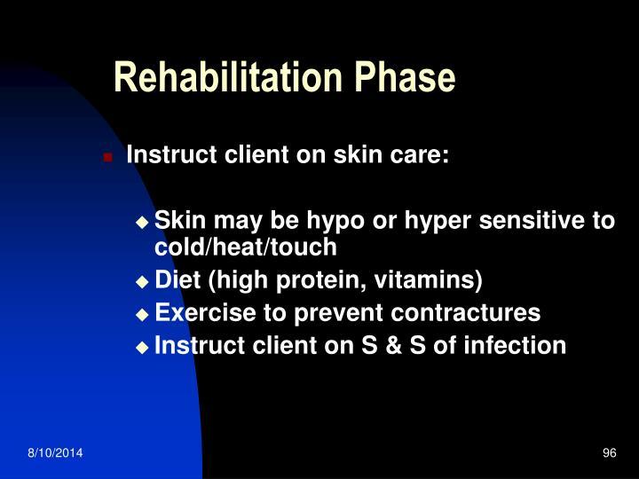 Rehabilitation Phase