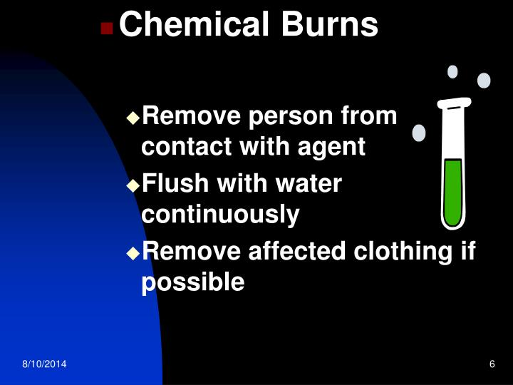 Chemical Burns
