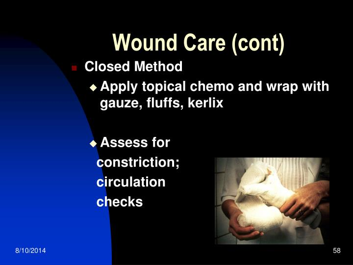 Wound Care (cont)