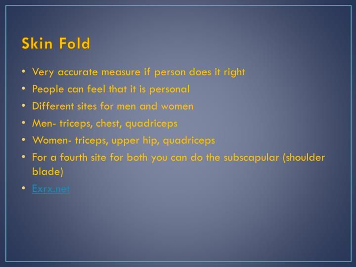 Skin Fold