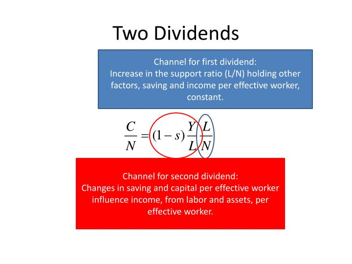 Two Dividends