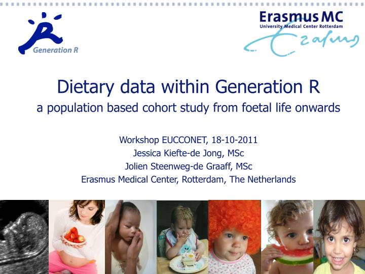 Dietary data within Generation R