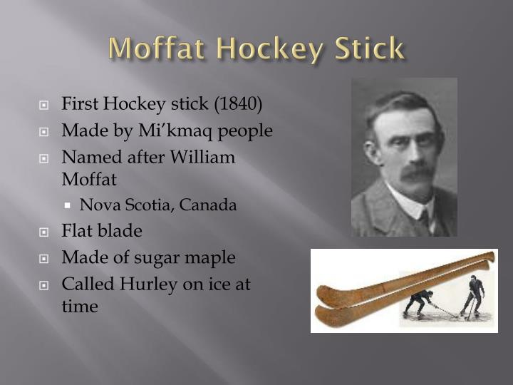 Moffat Hockey Stick