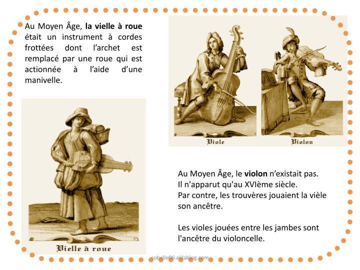 Au Moyen Âge,