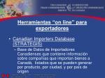 herramientas on line para exportadores