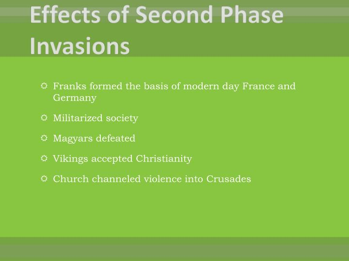 Effects of Second Phase Invasions