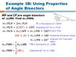example 3b using properties of angle bisectors