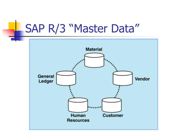 "SAP R/3 ""Master Data"""