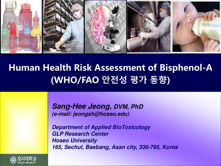 Human Health Risk Assessment of