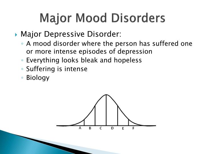Major Mood Disorders