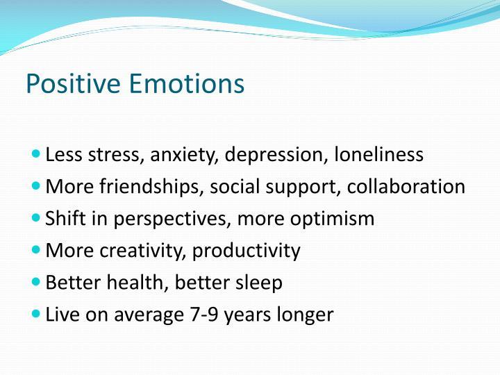 Positive Emotions