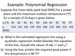 example polynomial regression