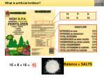 what is artificial fertilizer1