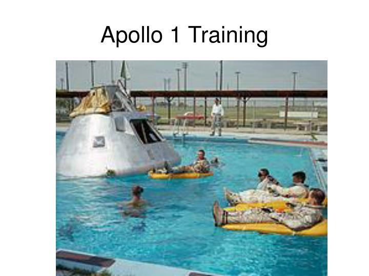 Apollo 1 Training
