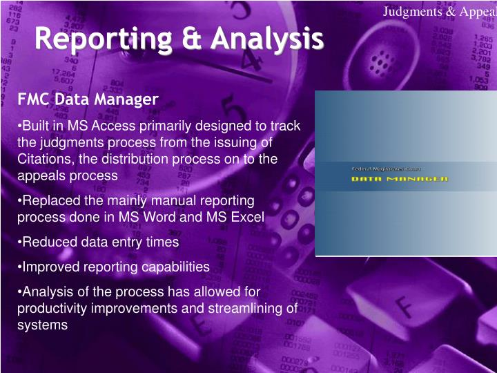 FMC Data Manager