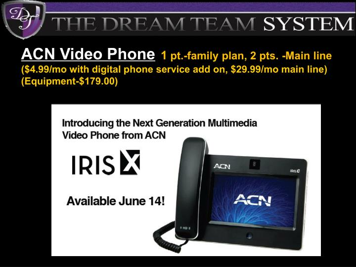 ACN Video Phone