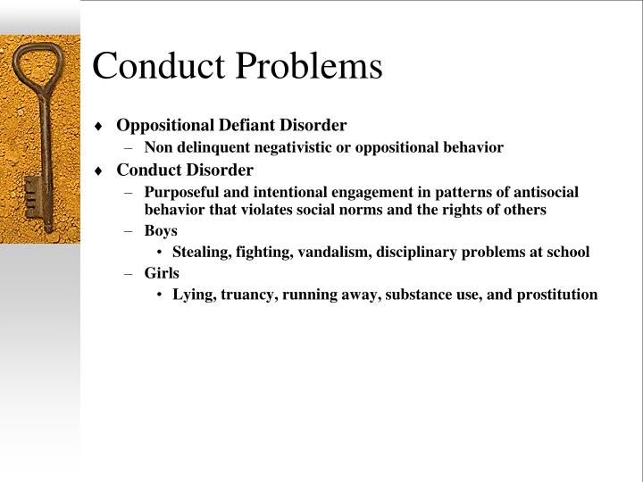 Conduct Problems