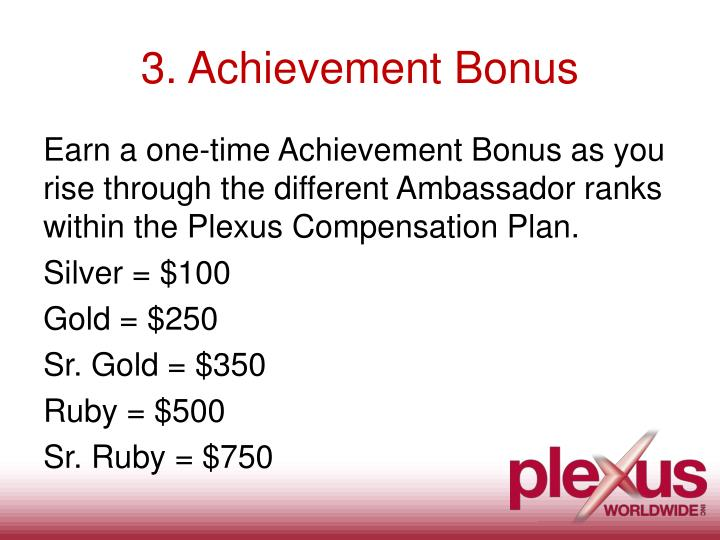 3. Achievement Bonus