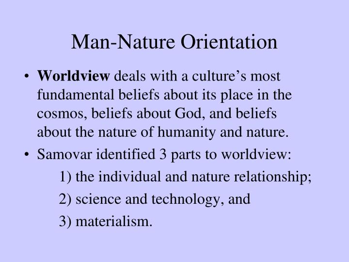 Man-Nature Orientation