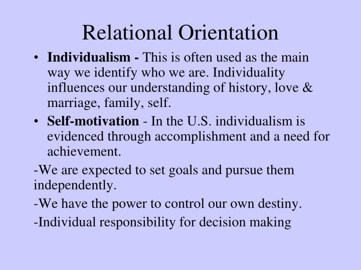 Relational Orientation