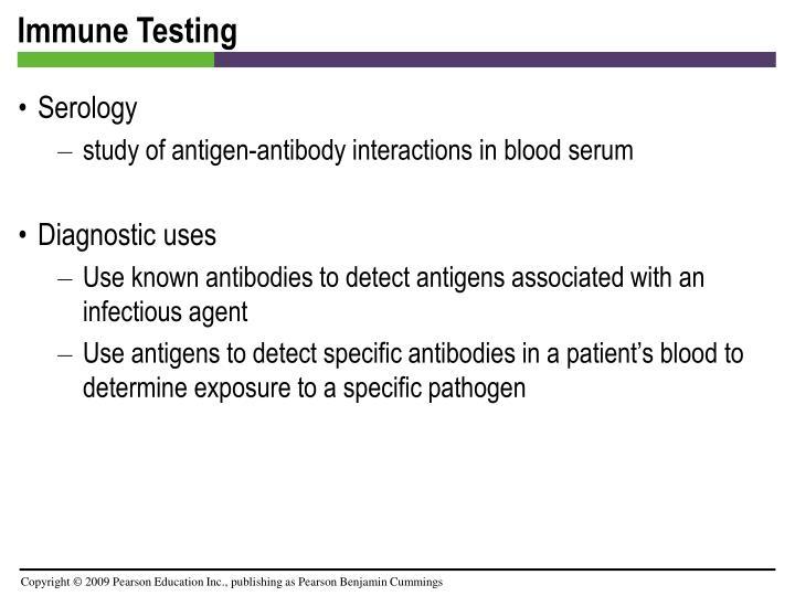 Immune Testing