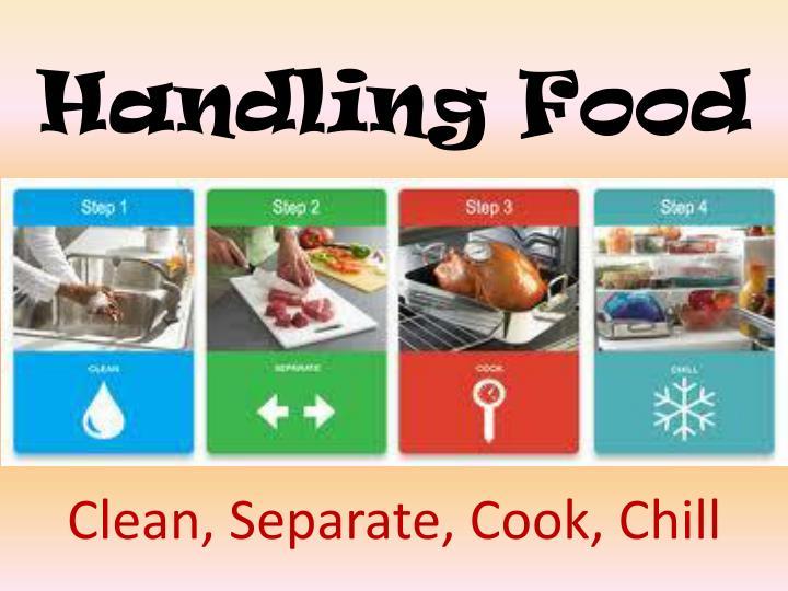 Handling Food