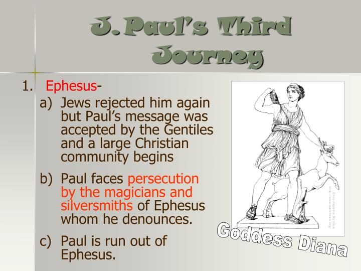 Paul's Third Journey